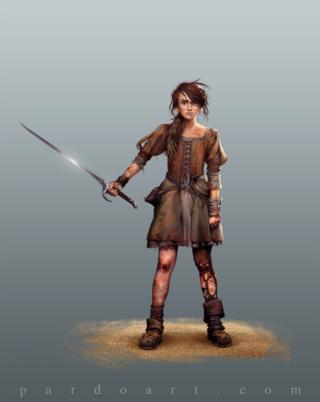 Arya Stark - by pardoart