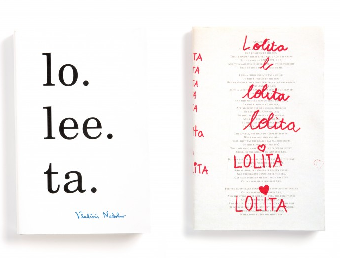 Spelling out Lolita and Handwriting