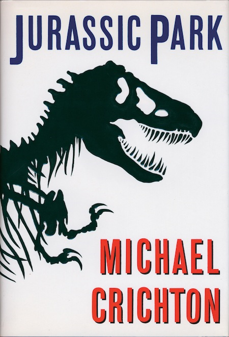 Jurassic Park by Michael Crichton.