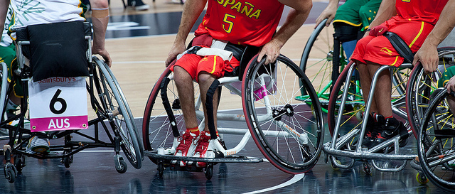 Paralympic Wheelchair Basketball 2012