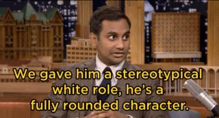 Aziz Ansari - White Roles